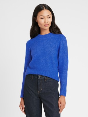 Banana Republic Puff-Sleeve Sweater