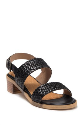 Seychelles Bring It Back Leather Block Heel Sandal
