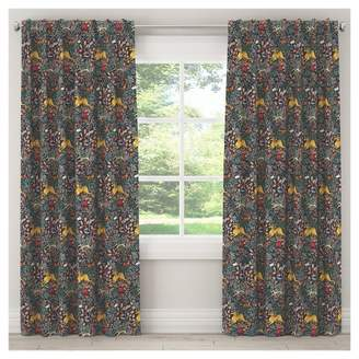 "Skyline Furniture Frolic Blackout Curtain Panel (84""x50"") Navy"
