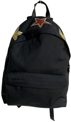 Givenchy Black Polyester Backpacks