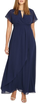 Studio 8 Destiny Maxi Dress, Navy