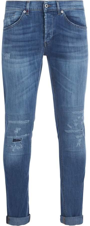 Dondup George Light Blue Washed Denim Jeans
