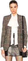 Saint Laurent Oversize Tweed Blazer