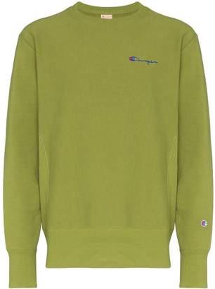 Champion crew-neck logo sweatshirt
