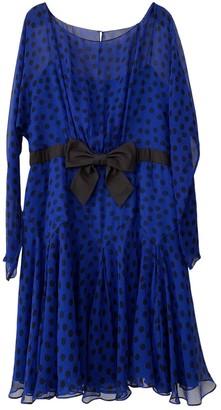 Jill Stuart Blue Silk Dress for Women
