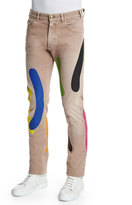 Versace Paint-Printed Trousers