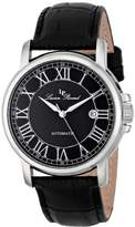 "Lucien Piccard Men's LP-12393-01 ""Rioja"" Stainless Steel Automatic Watch with Leather Band"