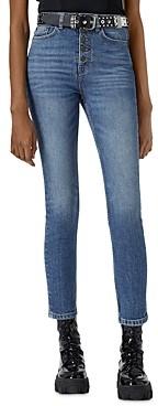 The Kooples Straight Leg Jeans in Blue