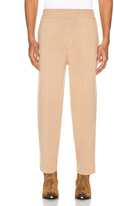 Haider Ackermann Knitted Trousers in Invidia Camel | FWRD