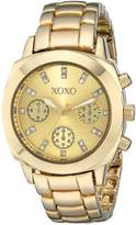 XOXO Women's XO5564 -Tone Bracelet Analog Watch