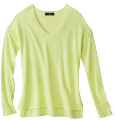 Mossimo Womens V-Neck Pullover Sweater - Assorted Colors