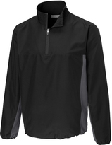 Cutter & Buck Onyx Follett Color Block Half-Zip Windshirt