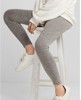 Express high waisted heathered distressed leggings