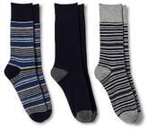 Merona Merona; Men's 3Pk Stripe and Solid Socks - Merona;