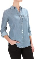 Foxcroft Double-Button Shirt - Long Sleeve (For Women)