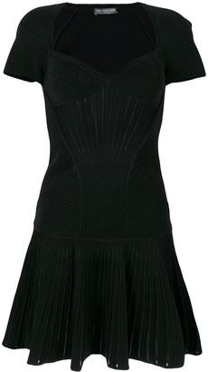 Alexander McQueen Knitted Mini Dress