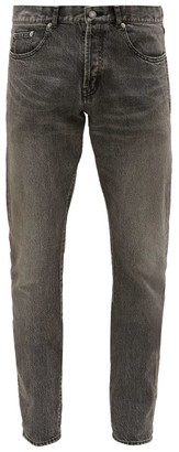 Saint Laurent Slim-leg Denim Jeans - Grey