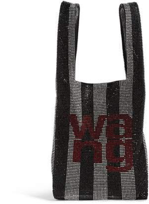 Alexander Wang Mini Crystal Stripe Wangloc Shopper Bag