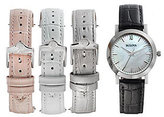 Bulova Women's Interchangeable Leather Strap Watch Set