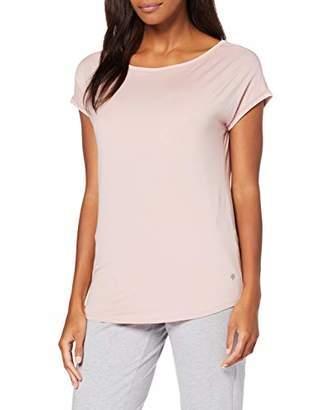Marc O'Polo Body & Beach Women's Mix W-Shirt Crew-Neck Pyjama Top,14 (Size: Large)