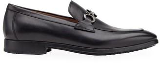 Salvatore Ferragamo Ree Condor Leather Loafers
