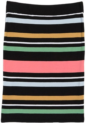 BCBGeneration Stripe Print Pencil Skirt