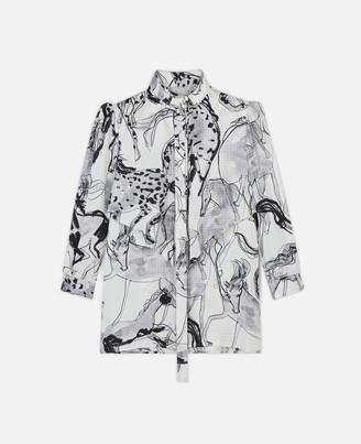 Stella McCartney Stefanie Horse Print Shirt, Women's