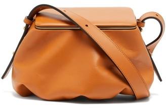 Lutz Morris Bates Small Grained-leather Shoulder Bag - Tan