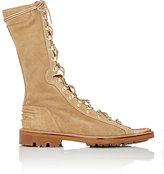 Balmain Men's Lace-Up Ranger Sandals-TAN