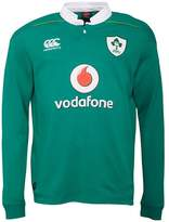 Canterbury of New Zealand Mens Ireland Classic Long Sleeve Home Shirt Bosphorus