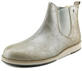 Emu Taria Women Round Toe Leather Bootie.