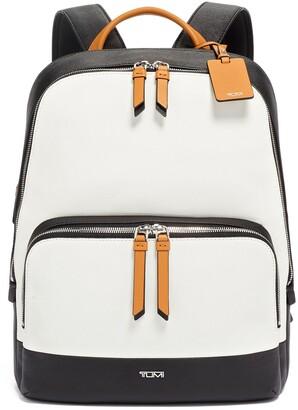 Tumi Varek Hudson Leather Backpack