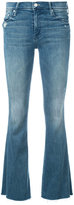 Mother bootcut jeans - women - Cotton/Spandex/Elastane - 24