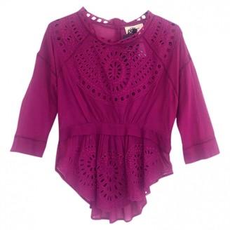 Etoile Isabel Marant Pink Cotton Tops