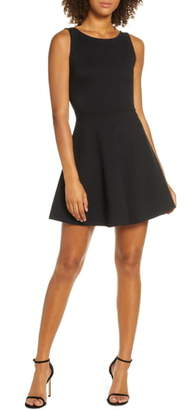 Lulus Special Kind of Love Backless Skater Dress