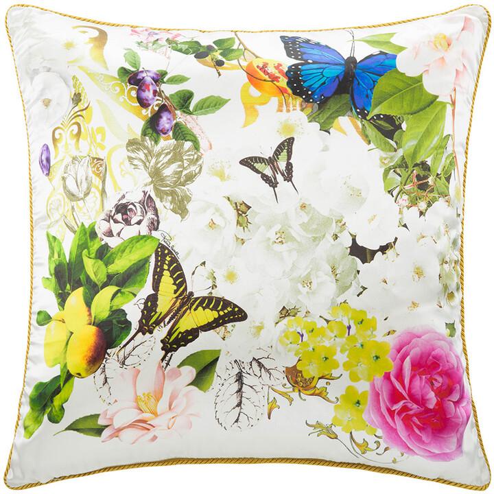 Roberto Cavalli Blaze Silk Bed Cushion