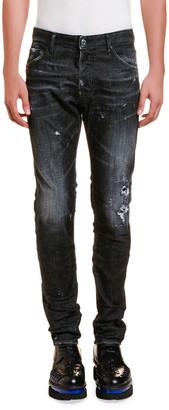 DSQUARED2 Men's Cool Guy Paint-Splattered Jeans