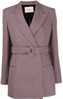 Mulberry Elle houndstooth jacket