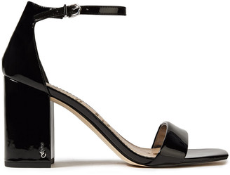 Sam Edelman Daniella Faux Patent-leather Sandals