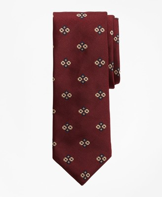 Brooks Brothers Limited Edition Archival Collection Floral Silk Jacquard Tie