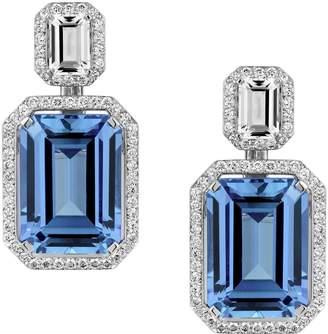Swarovski x Penelope Cruz White Gold, Topaz and Diamond Angel Earrings Regrettabl