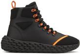 Giuseppe Zanotti Textured Chunky Sole Hi-Top Sneakers