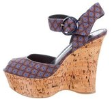 Louis Vuitton Woven Platform Sandals