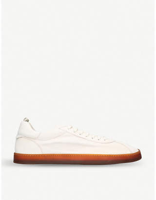 Officine Creative Karma leather trainers
