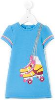 Little Marc Jacobs skates print T-shirt - kids - Cotton/Polyester/Elastodiene - 6 mth