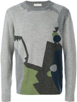Etro geometric knit sweater - men - Cashmere/Wool - M