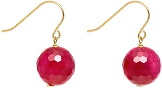 Lola Rose Women Red Agate Dangle and Drop Earrings 720809