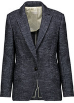 Etoile Isabel Marant Ivan Marled Wool And Cotton-Blend Blazer