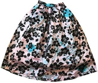 Ashley Williams Pink Silk Skirt for Women