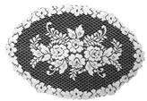 Heritage Lace Victorian Rose 13-Inch by 20-Inch Placemat